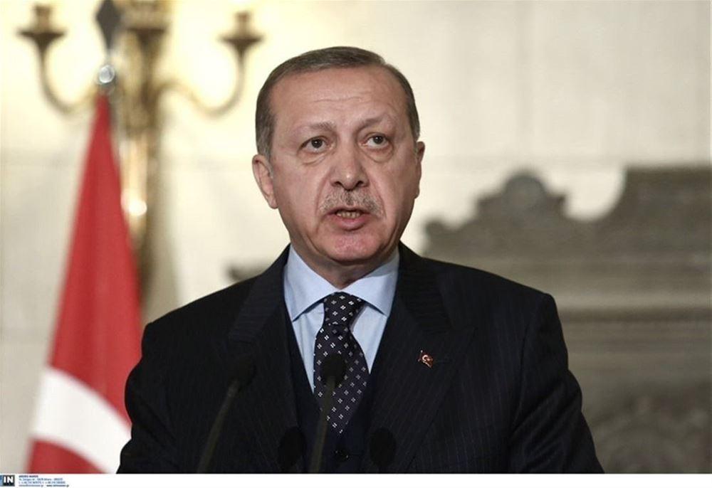 Προκλητικός και πάλι ο Ερντογάν: Έμβλημα της Τουρκίας ο δικέφαλος αετός