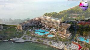 Μια «μαγευτική» πτήση πάνω από το Sani Resort (video)