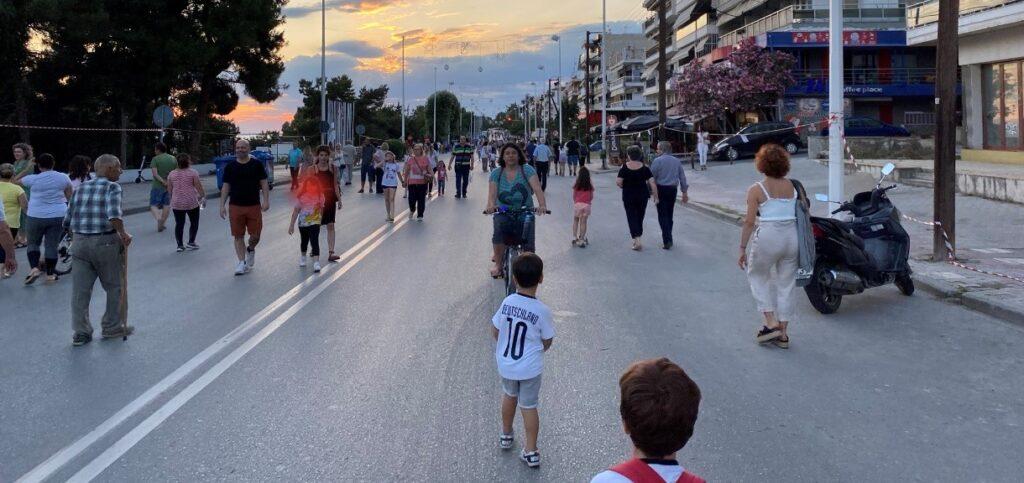 Καλαμαριά: Πεζοδρομείται η Νικολάου Πλαστήρα την Κυριακή