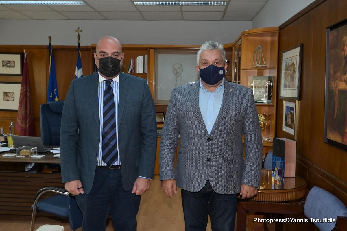 Συνάντηση του Πρύτανη του ΑΠΘ με τον Γενικό Πρόξενο της Γεωργίας στη Θεσσαλονίκη