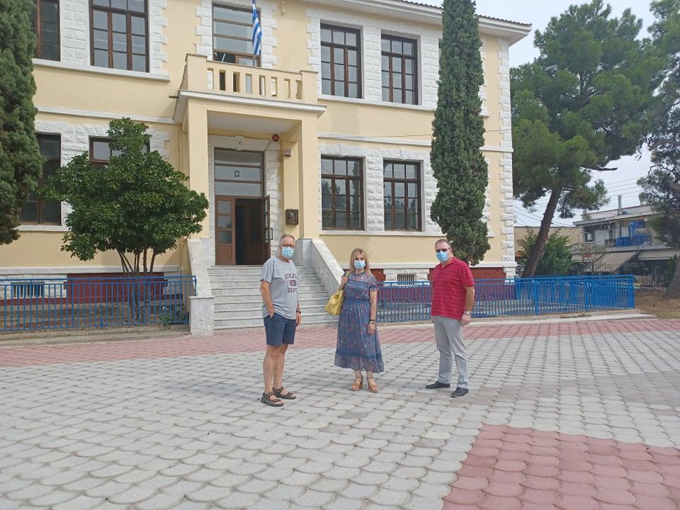 Δήμος Χαλκηδόνος: Αυτοψία της Δημοτικής Αρχής στα σχολεία