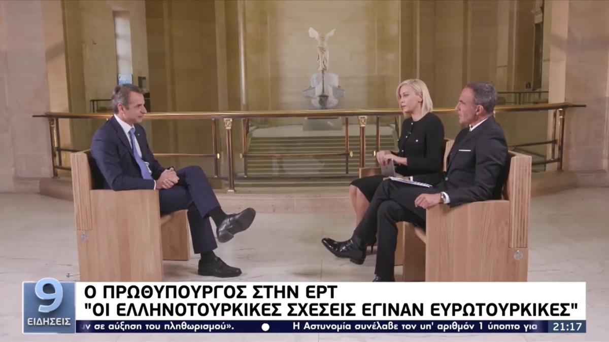 Μητσοτάκης: Υπάρχει εμβάθυνση της συνεργασίας μας με την Γαλλία (VIDEO)