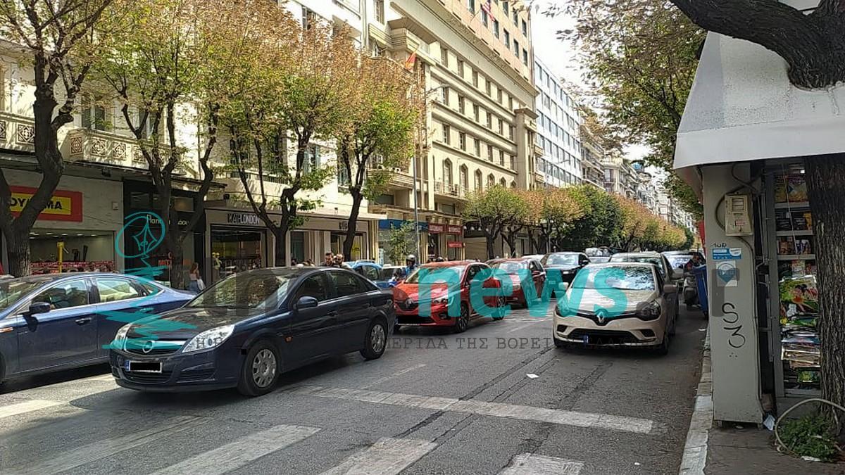 ΣΥΜΒΑΙΝΕΙ ΤΩΡΑ: «Κολλημένες» οι κεντρικές αρτηρίες της Θεσσαλονίκης