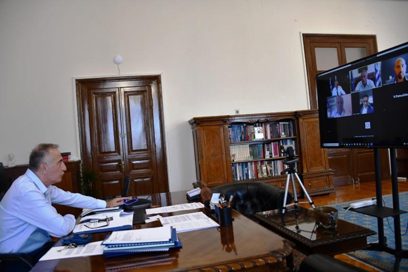 85η ΔΕΘ: Τηλεδιάσκεψη Θεοδωρικάκου – Φορέων της Θεσσαλονίκης
