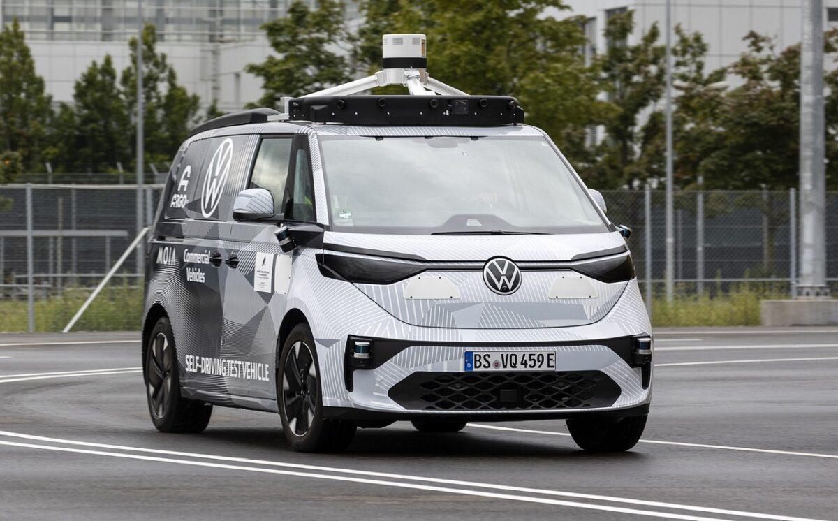 ID. BUZZ AD: Ένα concept car της Volkswagen για αυτόνομη οδήγηση