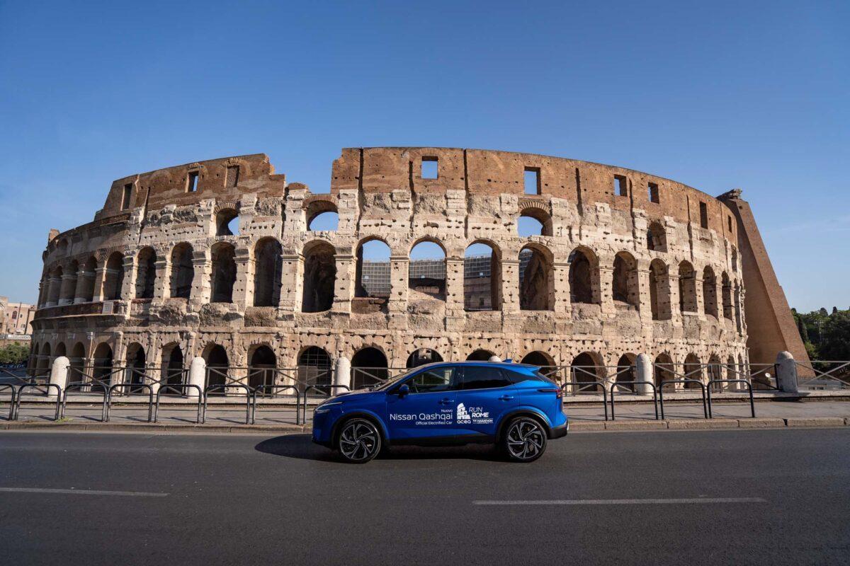 Στον Μαραθώνιο της Ρώμης το νέο Nissan Qashqai