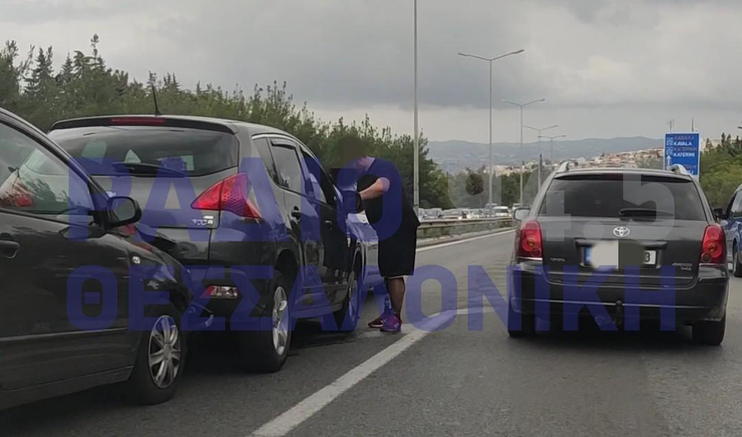 Μποτιλιάρισμα στον Περιφερειακό από σύγκρουση αυτοκινήτων (ΦΩΤΟ+VIDEO)