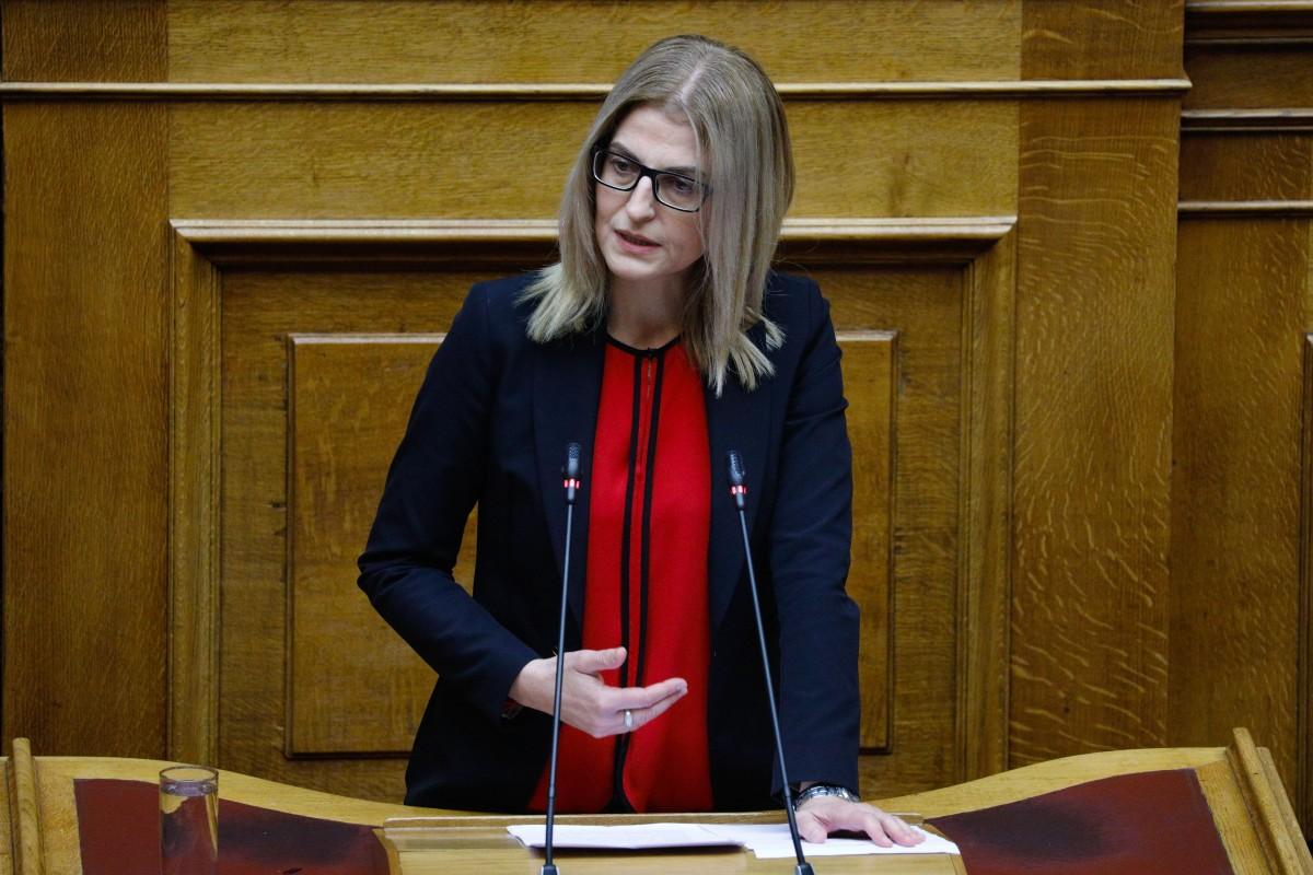 """Δ. Αυγέρη: """"H σιωπή της ΝΔ είναι εκκωφαντική"""""""