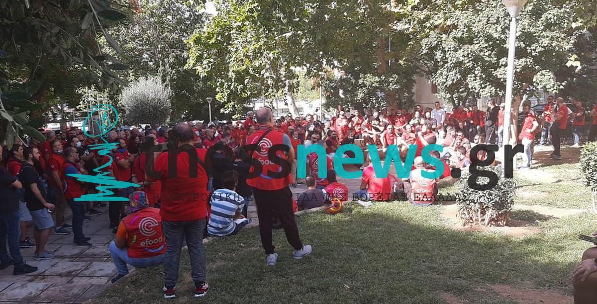 Θεσσαλονίκη: Αποφάσισαν κινητοποιήσεις οι εργαζόμενοι της efood