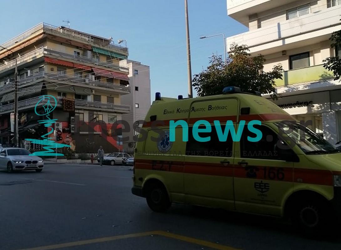 Θεσσαλονίκη: Παράσυρση 35χρονης από μηχανάκι στην Εθνικής Αντιστάσεως