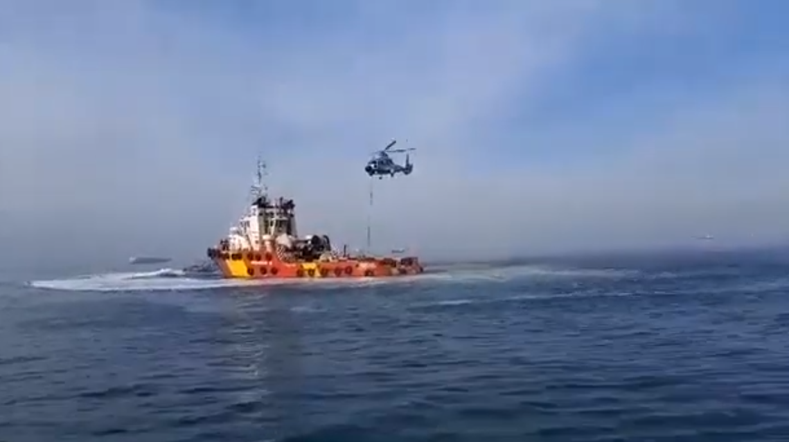 Θεσσαλονίκη: Επίδειξη εικονικής ανακατάληψης πλοίου μετά από τρομοκρατική ενέργεια – Εντυπωσιακά VIDEO