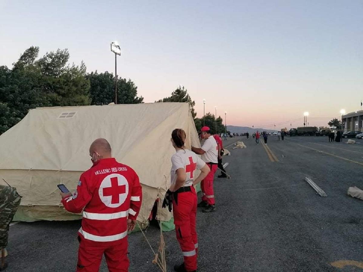 Ελληνικός Ερυθρός Σταυρός: Αποστολή μεγάλης ανθρωπιστικής βοήθειας στη σεισμόπληκτη Κρήτη (ΦΩΤΟ)