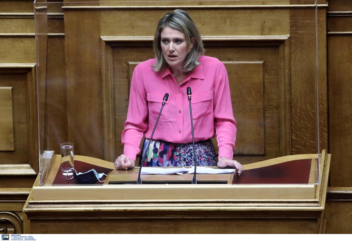Θεσσαλονίκη: Μπογιές στο δικηγορικό γραφείο της Άννας Ευθυμίου