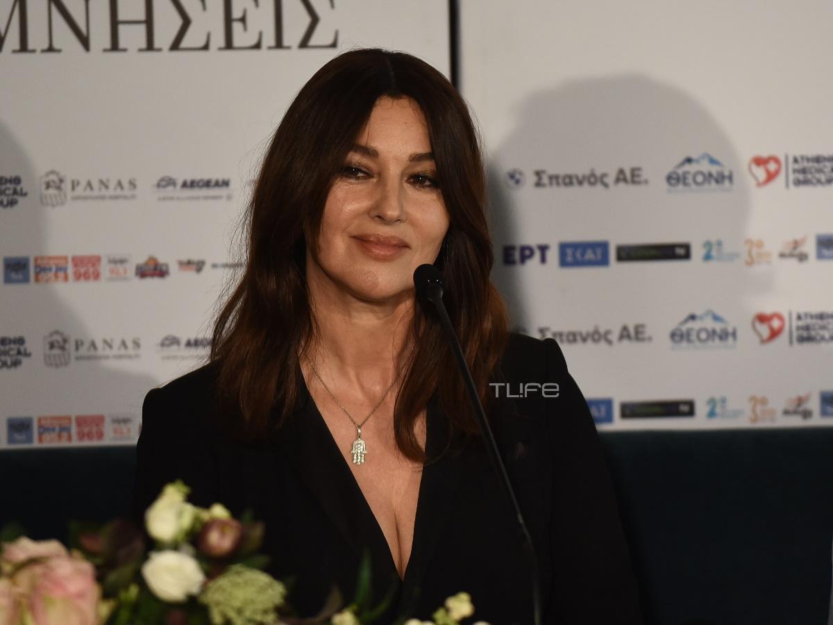 Η Μόνικα Μπελούτσι στην Αθήνα για την παράσταση στο Ηρώδειο – «Αγαπώ πολύ τη χώρα σας και έρχομαι κάθε χρόνο»