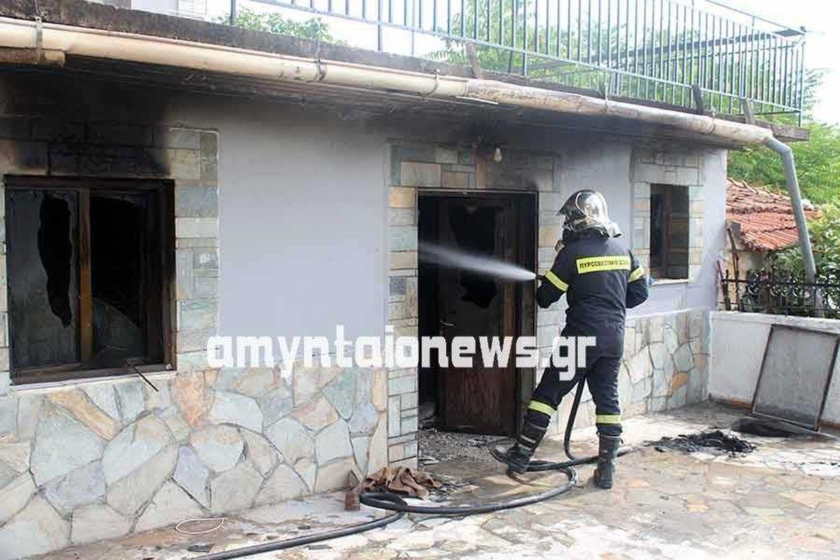 Φλώρινα: Ξεψύχησε 81χρονη λόγω φωτιάς μέσα στο σπίτι της