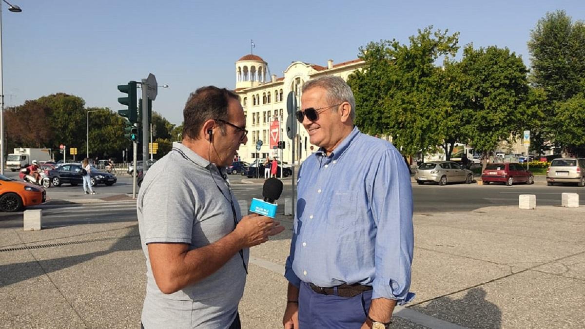 Μ. Γεράνης στο Ράδιο Θεσσαλονίκη: «Προχωράμε όλα τα μεγάλα έργα, είμαστε αισιόδοξοι».