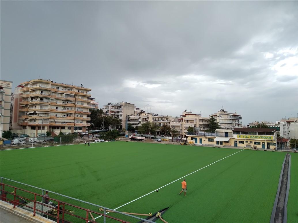 Δήμος Παύλου Μελά: Με 750.000 ευρώ στρώθηκε πράσινο ''χαλί'' στα δημοτικά γήπεδα Άνω Ηλιούπολης και Ευκαρπίας