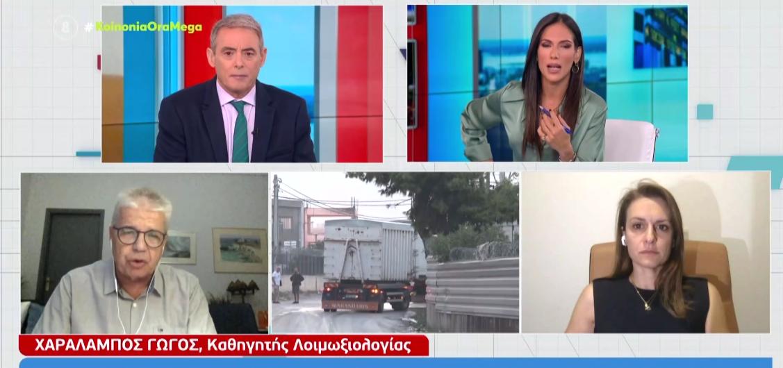 Χ.Γώγος: Ανοιχτό το ενδεχόμενο λήψης μέτρων στην Θεσσαλονίκη (ΒΙΝΤΕΟ)
