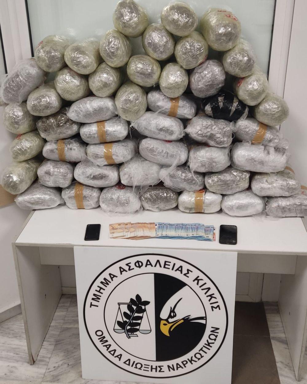 Θεσσαλονίκη: Συνελήφθη μέλος κυκλώματος ναρκωτικών – Κατασχέθηκαν πάνω από  52 κιλά κάνναβης