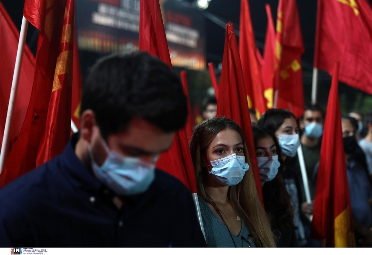 ΚΝΕ: «Έξω οι φασίστες από τη Δυτική Θεσσαλονίκη και τη Σταυρούπολη»