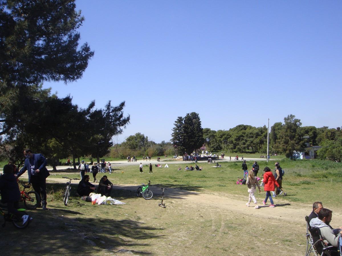 Kαλαμαριά: Πολίτες συμμετέχουν στη διαμόρφωση του πάρκου Κόδρα