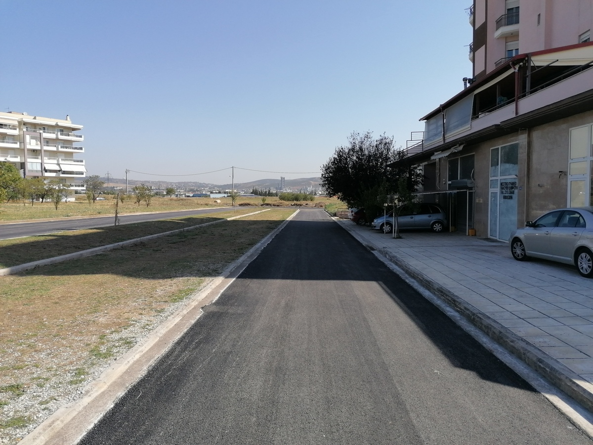 Δήμος Κορδελιού – Ευόσμου: Τρεις επιπλέον δρόμοι παραδόθηκαν στους δημότες