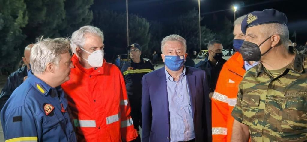 Yπ. Πολιτικής Προστασίας: Με όλες τις δυνάμεις μας βοηθάμε την Κρήτη