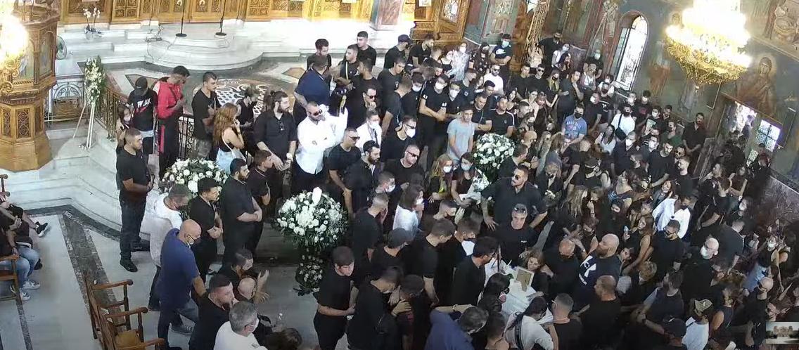 Δείτε live την κηδεία του Mad Clip (Video)