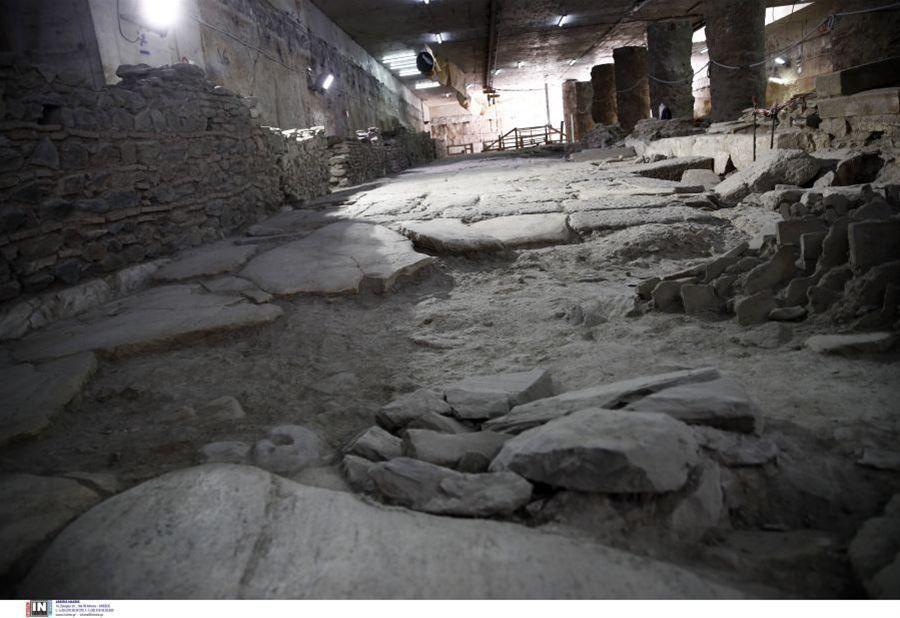 Νέα προσφυγή για τα αρχαία του σταθμού Βενιζέλου στο μετρό