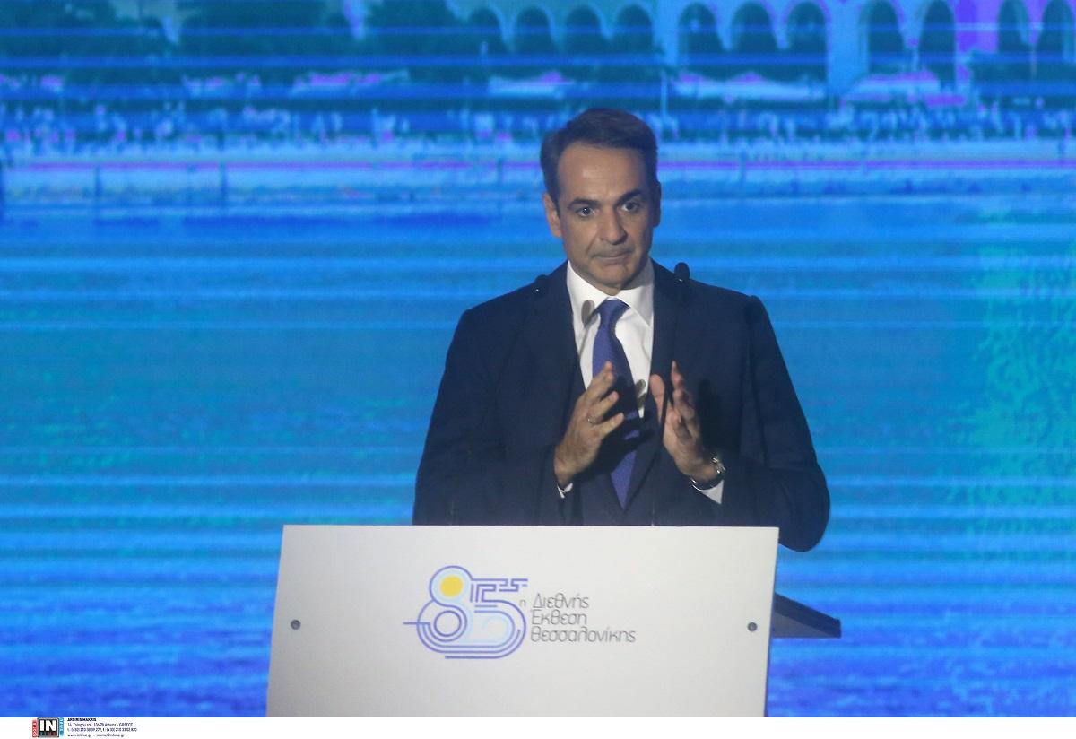 Κ. Μητσοτάκης από ΔΕΘ: Νέος στόχος ανάπτυξης το 2021 από το 3,6 στο 5,9%