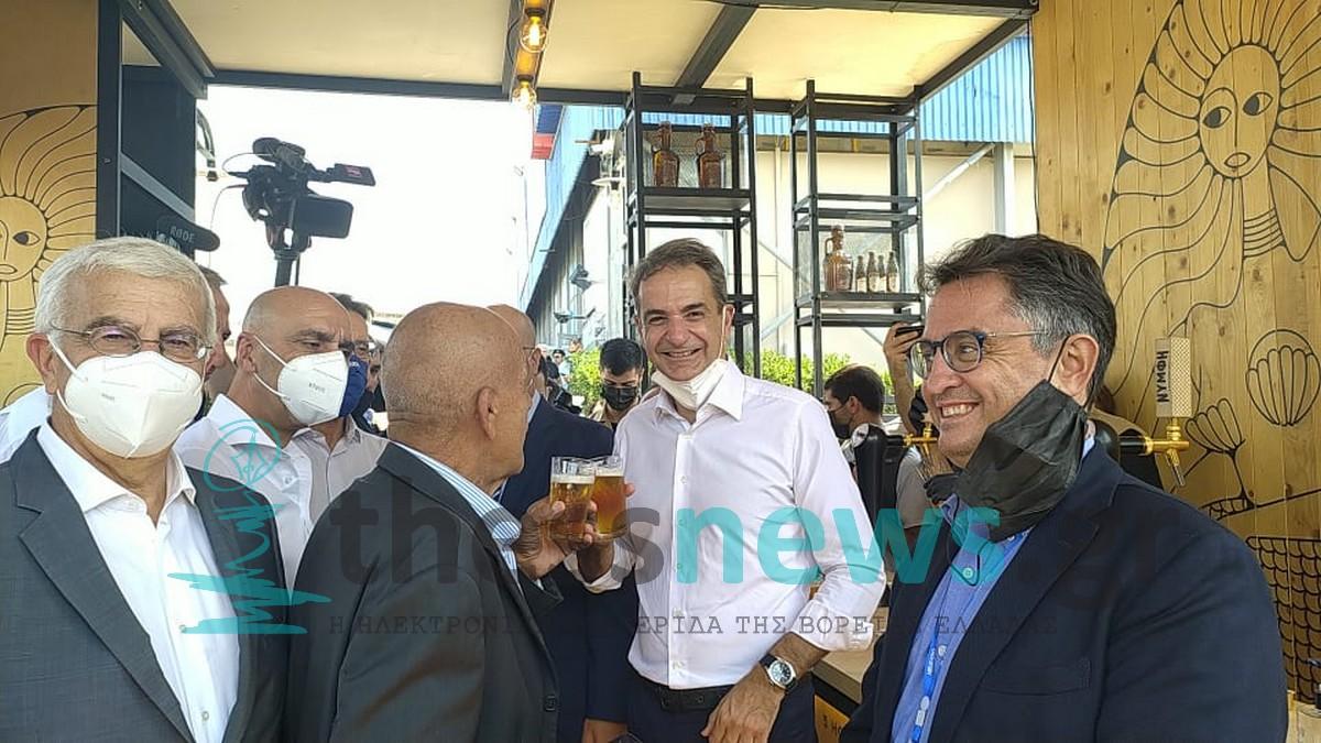 Μπύρα «Νύμφη» απόλαυσε ο Κυριάκος Μητσοτάκης στην ΔΕΘ (ΦΩΤΟ+VIDEO)