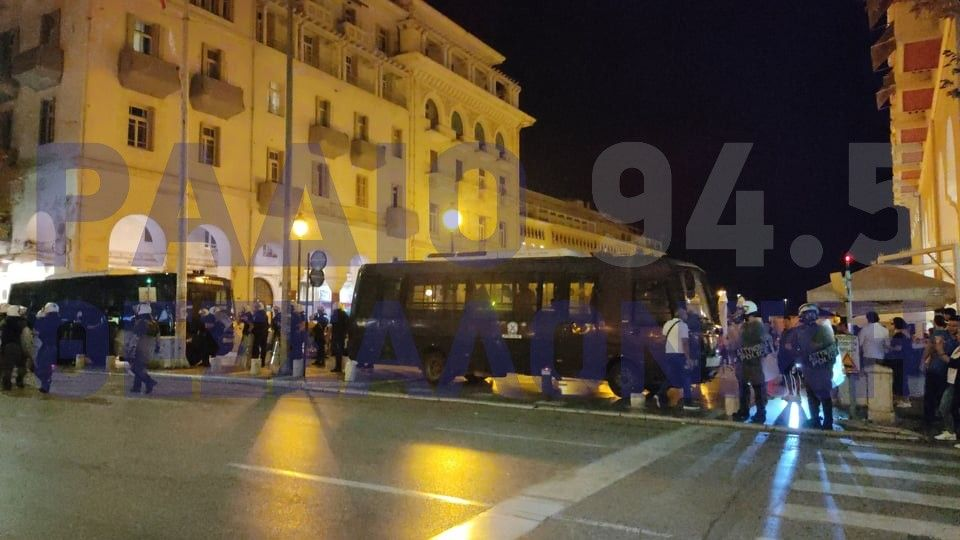 Θεσσαλονίκη: Μία σύλληψη στα χθεσινά επεισόδια οπαδών του ΠΑΟΚ με τα ΜΑΤ