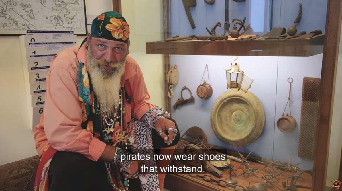 Το Πειρατικό μουσείο της Αλοννήσου (VIDEO)
