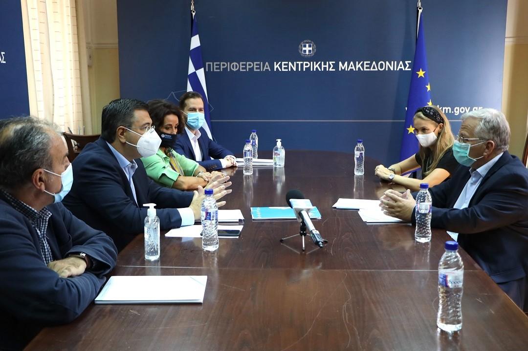 Υπέγραψαν σύμφωνο συνεργασίας Περιφέρεια Κ. Μακεδονίας με το «Χαμόγελου του Παιδιού»