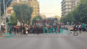 Θεσσαλονίκη: Αντιφασιστική πορεία για την δολοφονία του Παύλου Φύσσα