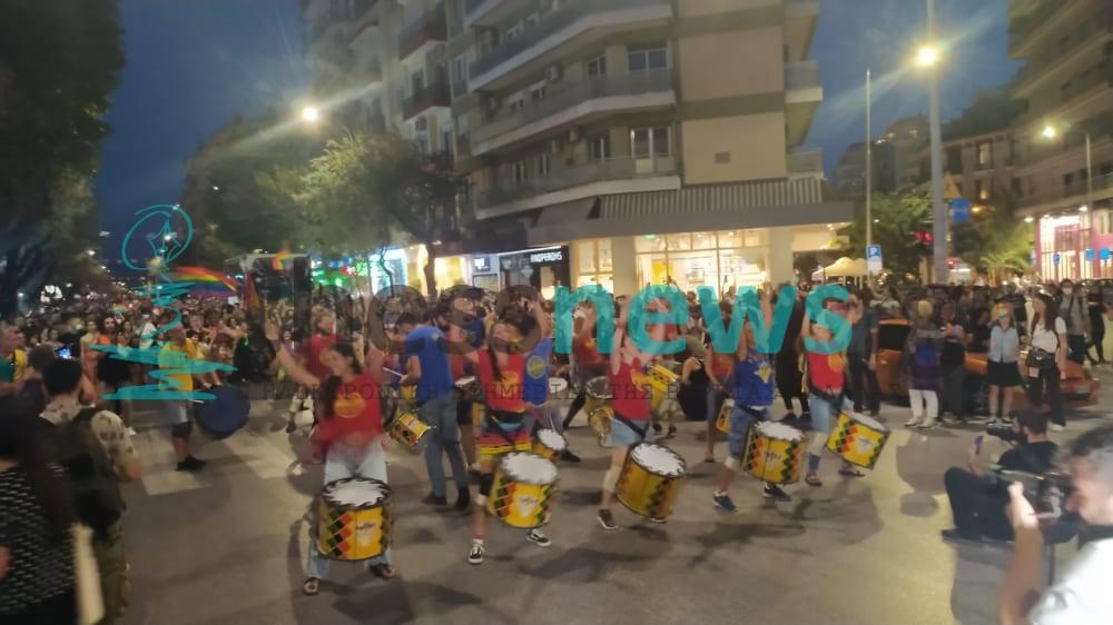 9ο Thessaloniki Pride: Πορεία στους κεντρικούς δρόμους της πόλης (ΦΩΤΟ+ BINTEO)