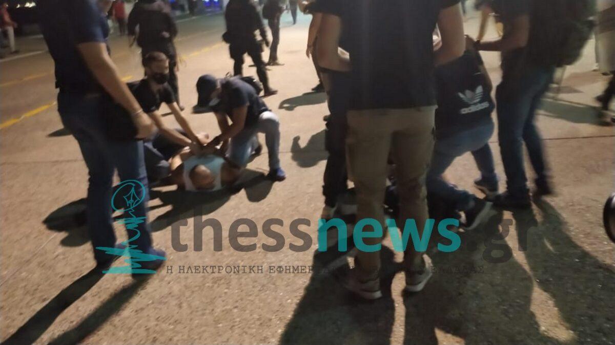 Θεσσαλονίκη: Συλλήψεις και προσαγωγές από την αστυνομία μετά τα επεισόδια (ΦΩΤΟ+VIDEO)