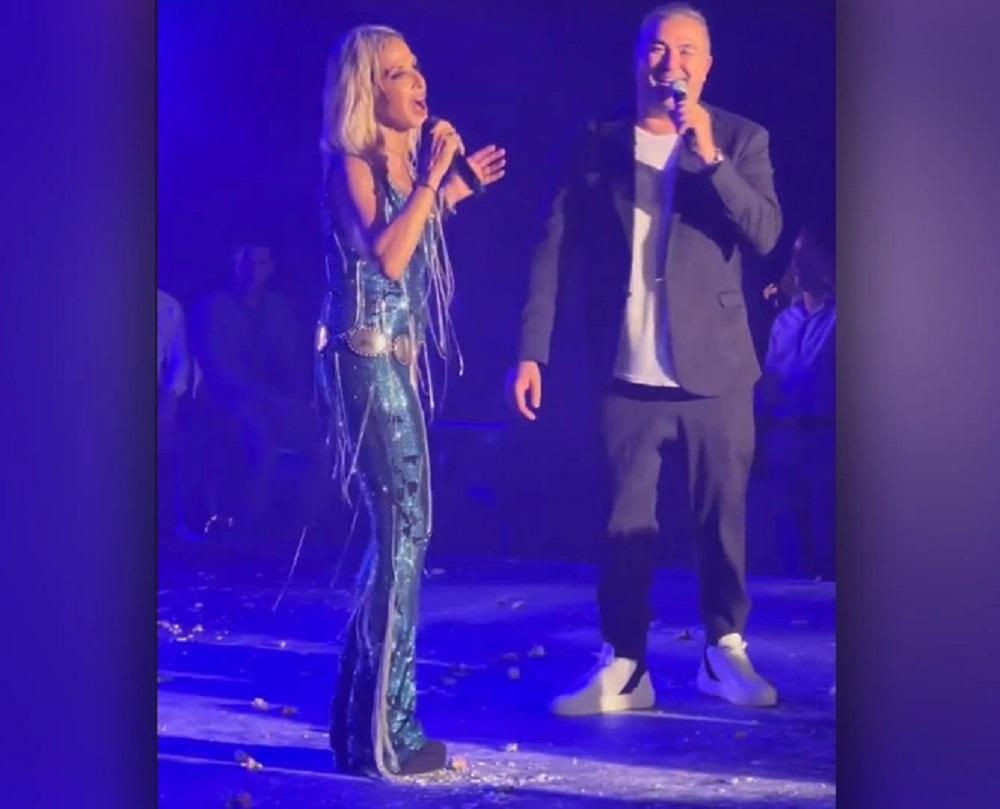 Βίσση – Ρέμος: Τραγουδούν on stage μπροστά στον πρίγκιπα Αλβέρτο