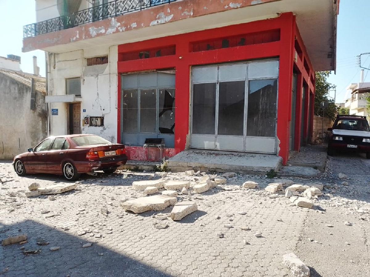 Σεισμός στην Κρήτη: Ένας νεκρός και εννιά τραυματίες (ΦΩΤΟ+VIDEO)