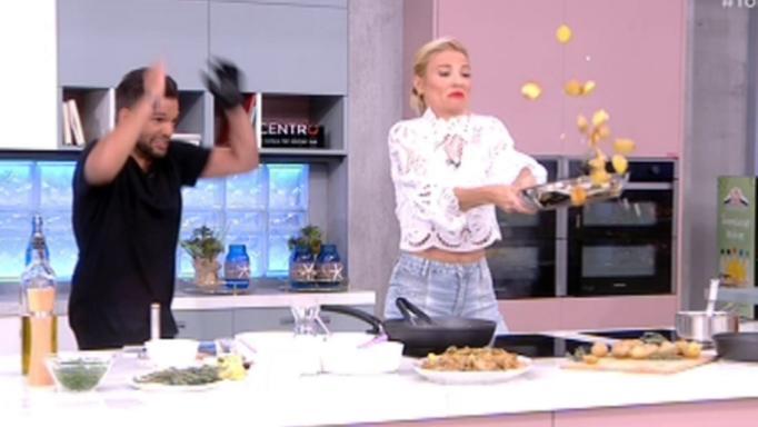 Δεν πήγε καλά αυτό: Η Φαίη προσπαθεί να γυρίσει το τηγάνι με πλήρη…αποτυχία (VIDΕΟ)
