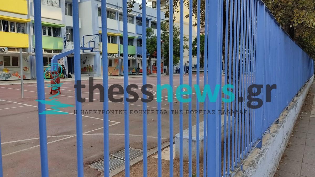 Σταυρούπολη: Συναγερμός για φωτιά στο σχολείο που έγιναν τα επεισόδια