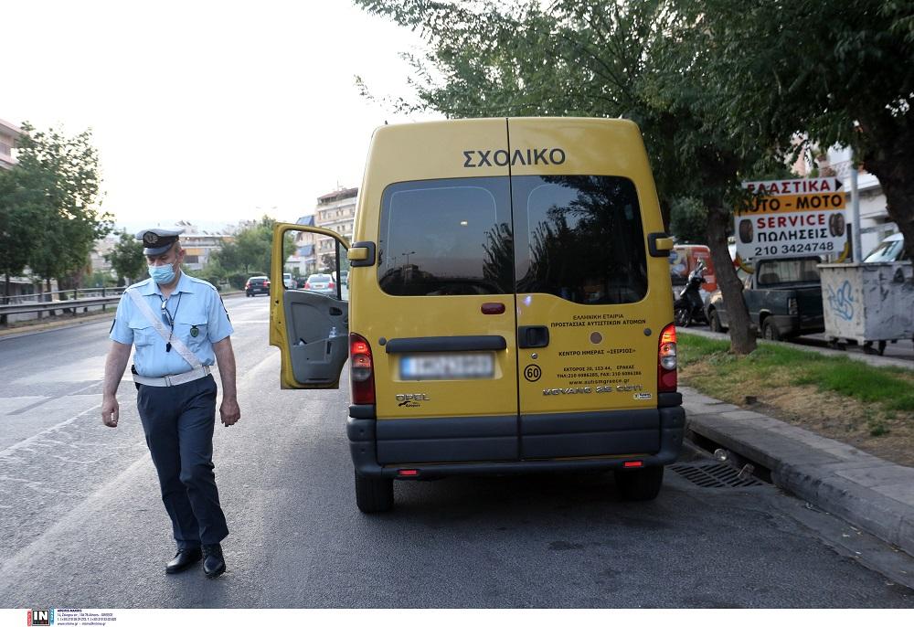 Βεβαιώθηκαν 65 παραβάσεις σε σχολικά λεωφορεία απο την Τροχαία