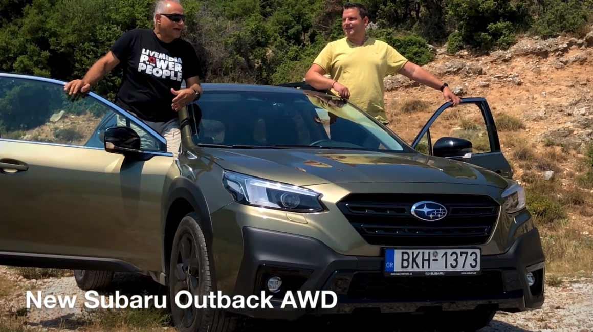 Test Drive video: New Subaru Outback AWD