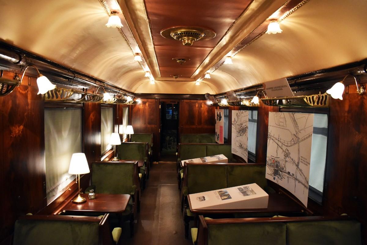 ΔΕΘ: Μαγνήτισε τα βλέμματα το ανακατασκευασμένο βαγόνι Simplon-Orient Express