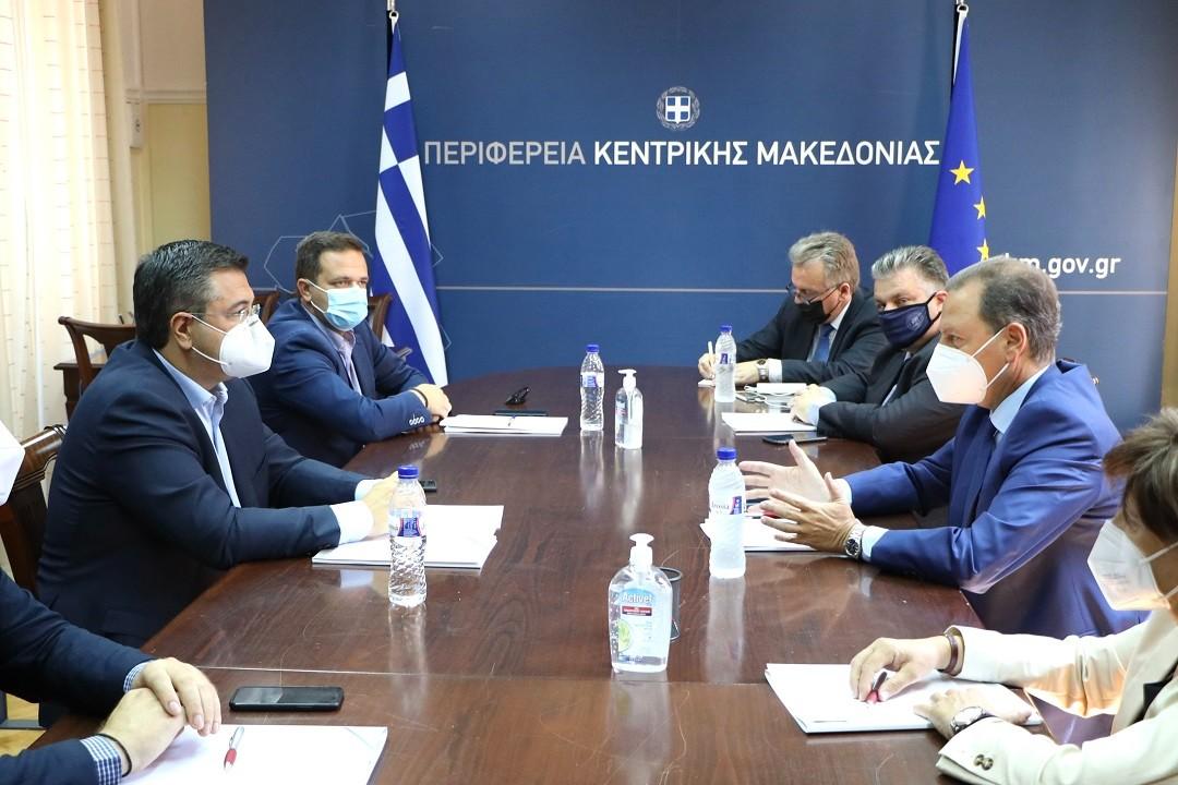 """A.Τζιτζικώστας: """"O αγροτικός τομέας αποτελεί απόλυτη προτεραιότητα της Περιφέρειας Κεντρικής Μακεδονίας"""""""
