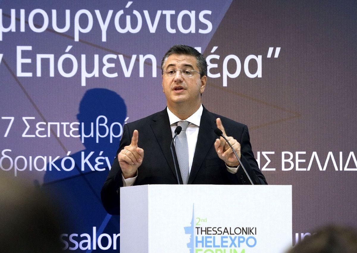 """Τζιτζικώστας στο Thessaloniki Helexpo Forum: """"Κοινό μας όραμα η δημιουργία της Μακεδονίας του 2030"""""""