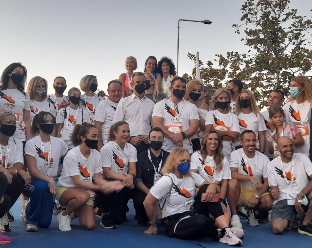 Κ. Ζέρβας στο 4ο Olympic Day Run: «Η πόλη στο επίκεντρο μεγάλων διοργανώσεων»