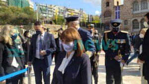 Αικ. Σακελλαροπούλου: Βαθιά ριζωμένη στην ιστορία η σχέση της Θεσσαλονίκης με τον Άγιο Δημήτριο (VIDEO)
