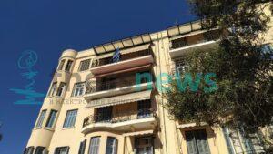 Γέμισαν ελληνικές σημαίες τα μπαλκόνια της Θεσσαλονίκης (ΦΩΤΟ)