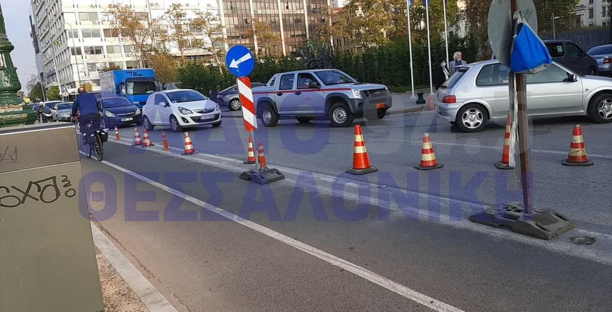 ΣΥΜΒΑΙΝΕΙ ΤΩΡΑ: Κυκλοφοριακό «έμφραγμα» στο κέντρο της Θεσσαλονίκης (ΦΩΤΟ+VIDEO)